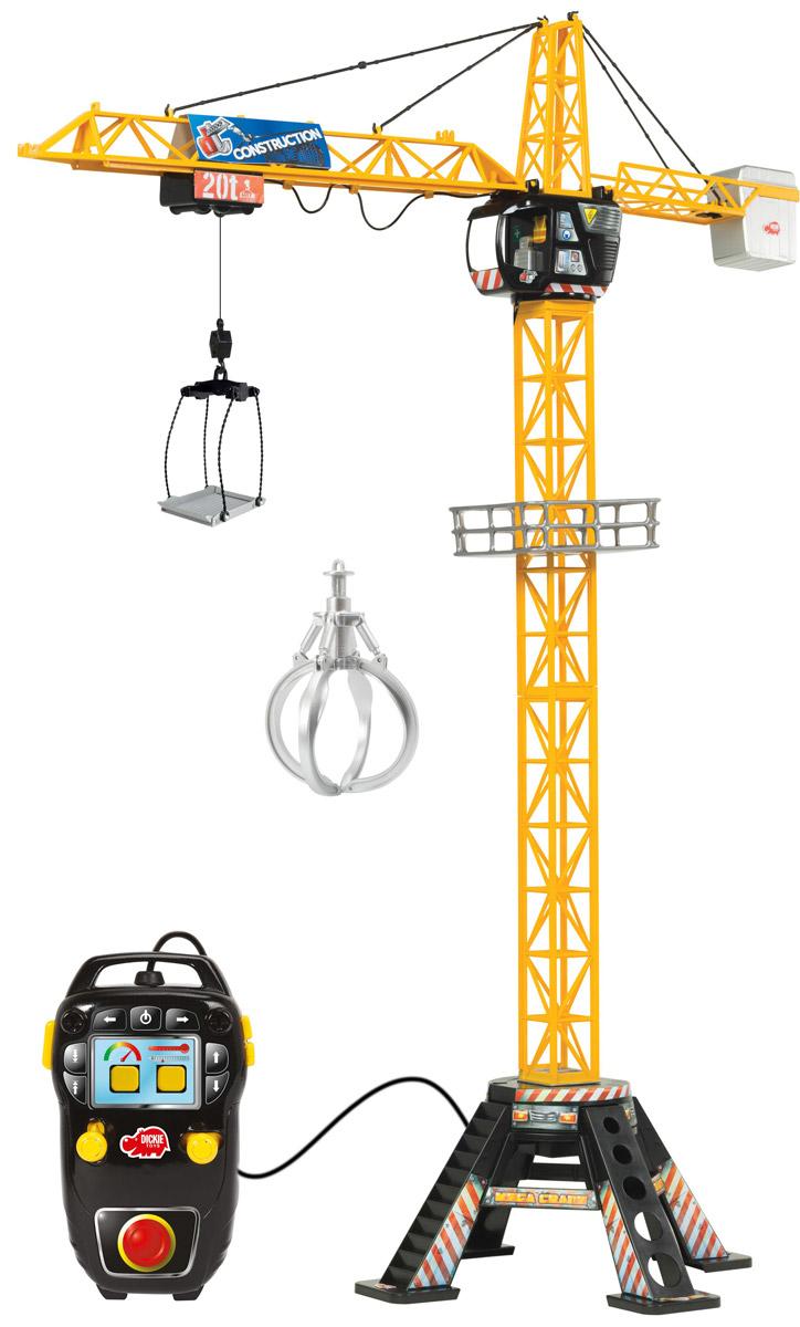 Dickie Toys Башенный кран Mega Crane крючок двойной tatkraft mega lock на вакуумном шурупе