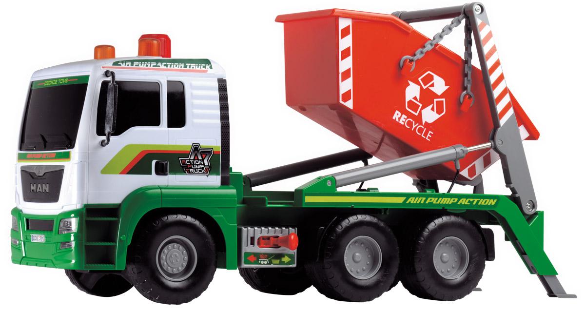 Dickie Toys Мусоровоз MAN с большим контейнером