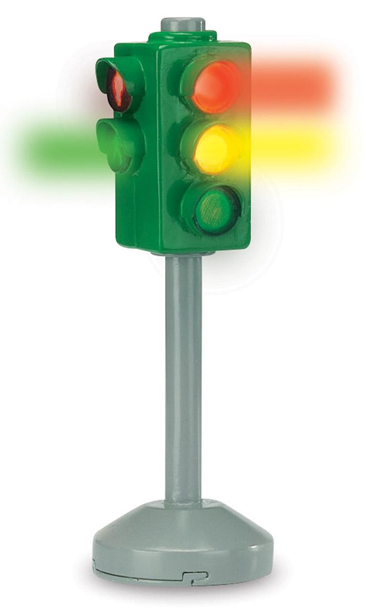 Dickie Toys Игровой набор Светофор City Light набор игровой для мальчика poli средний трек с умной машинкой