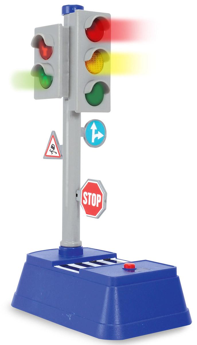 Dickie Toys Игровой набор Светофор City Traffic dickie toys игровой набор маяк