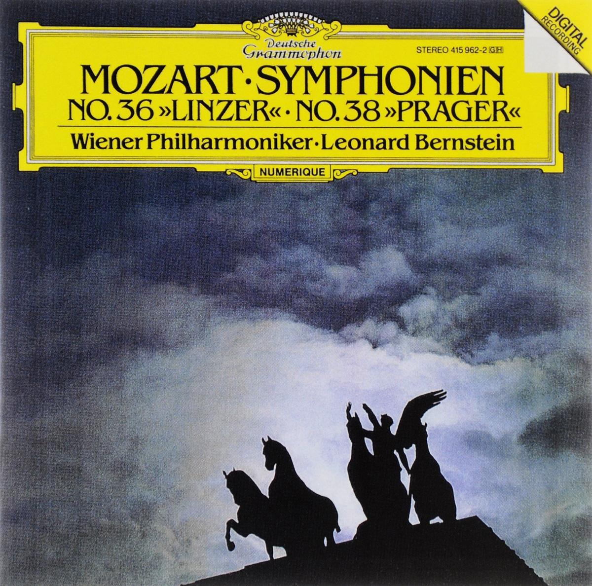 Вольфганг Моцарт Mozart. Symphonien No.36 Linzer & No.38 Prager роберт шуман symphonie 1 b dur sib majeur