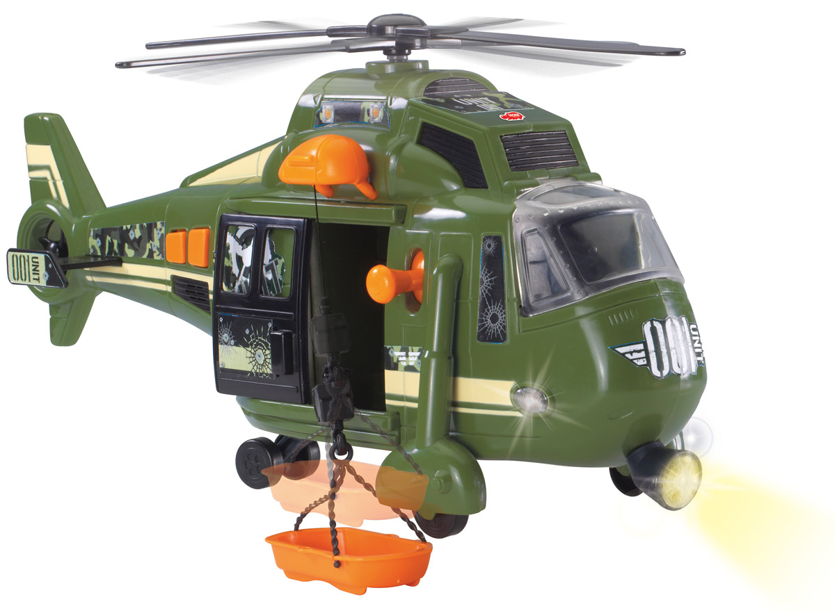 Dickie Toys Вертолет военный Sky Force - Транспорт, машинки