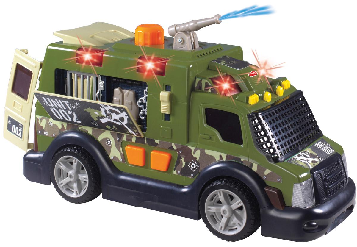 Dickie Toys Броневик Armor Truck автотрек dickie simba 3083077 спайдер мэн