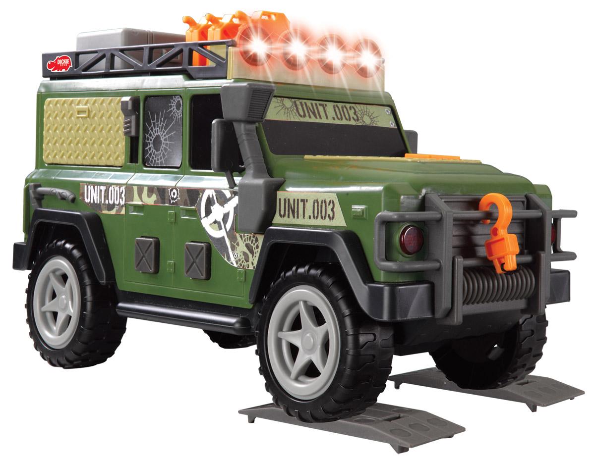 Dickie Toys Внедорожник Outland Patrol автотрек dickie simba 3083077 спайдер мэн