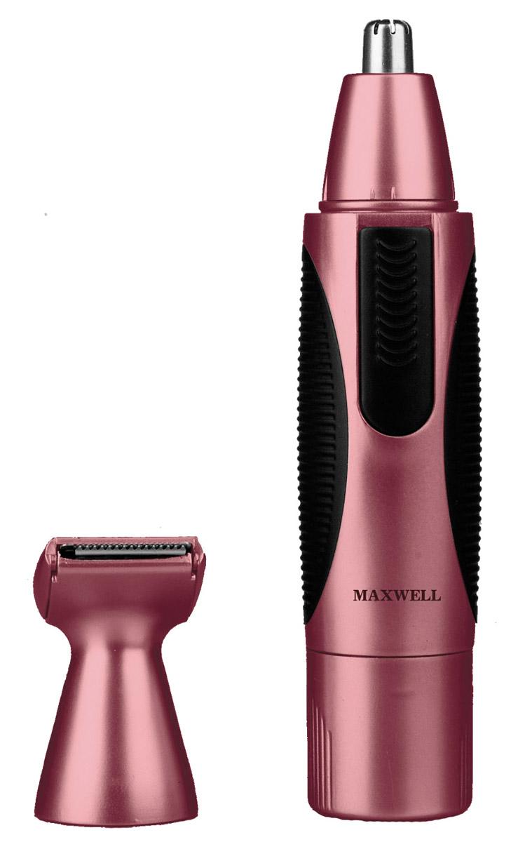 Maxwell MW-2801 триммер2801-MW-01Триммер Maxwell MW-2801 - специальный прибор для мужчин, с помощью которого можно удалять волосы из ушей и носа, а также при необходимости корректировать усы и бороду. Прибор имеет автономный источник питания - аккумуляторную батарейку типа АА напряжением 1.5В. Триммер Maxwell MW-2801 имеет элегантный водонепроницаемый корпус, который легко очищать от волос, удобную ручку с прорезиненными вставками. Лезвия для триммера изготовлены из высококачественной нержавеющей стали. В комплекте имеются две насадки для корректировки бакенбард, усов и бороды.Водонепроницаемый корпус для простоты использования и очистки Лезвия из высококачественной нержавеющей сталиНасадка для корректировки линии бороды, усов, бакенбардНасадка для удаления волос из носа и ушейУдобная ручка