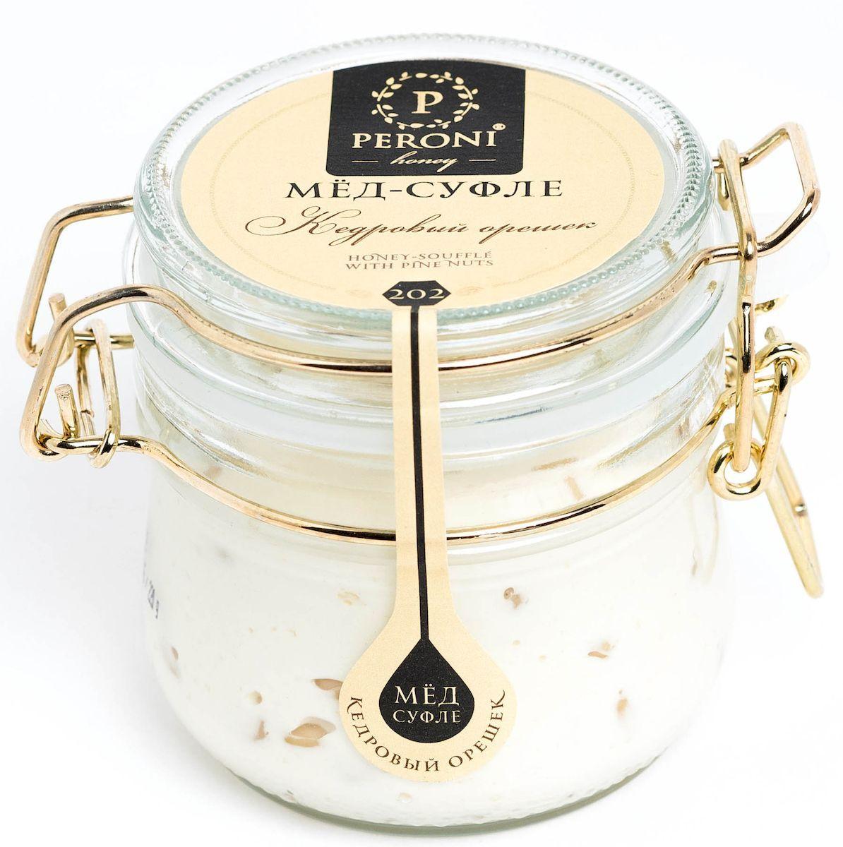 Peroni Кедровый орешек мёд-суфле, 220 г медовая серия peroni энерджи premium 4 x 30 мл
