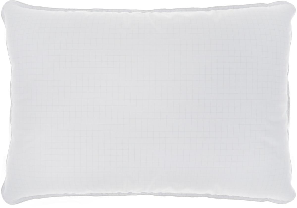 Подушка Togas Антистресс, наполнитель: лебяжий пух, цвет: белый, серебристый, 50 х 70 см кабель deppa alum lightning mfi usb 2 0 1 2м серебристый [72187]
