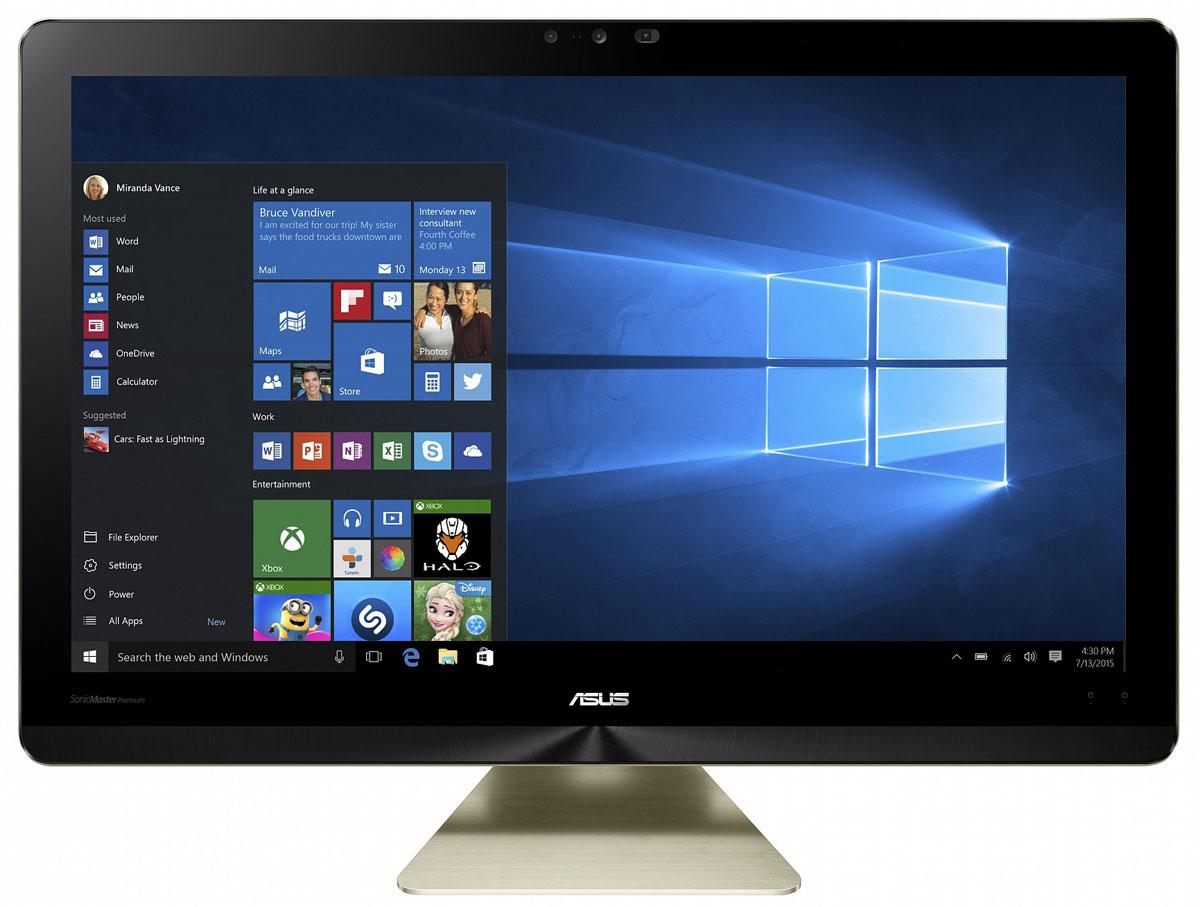 ASUS Zen AiO Pro Z240ICGK, Black Gold моноблок (Z240ICGK-GK086X) - Настольные компьютеры и моноблоки