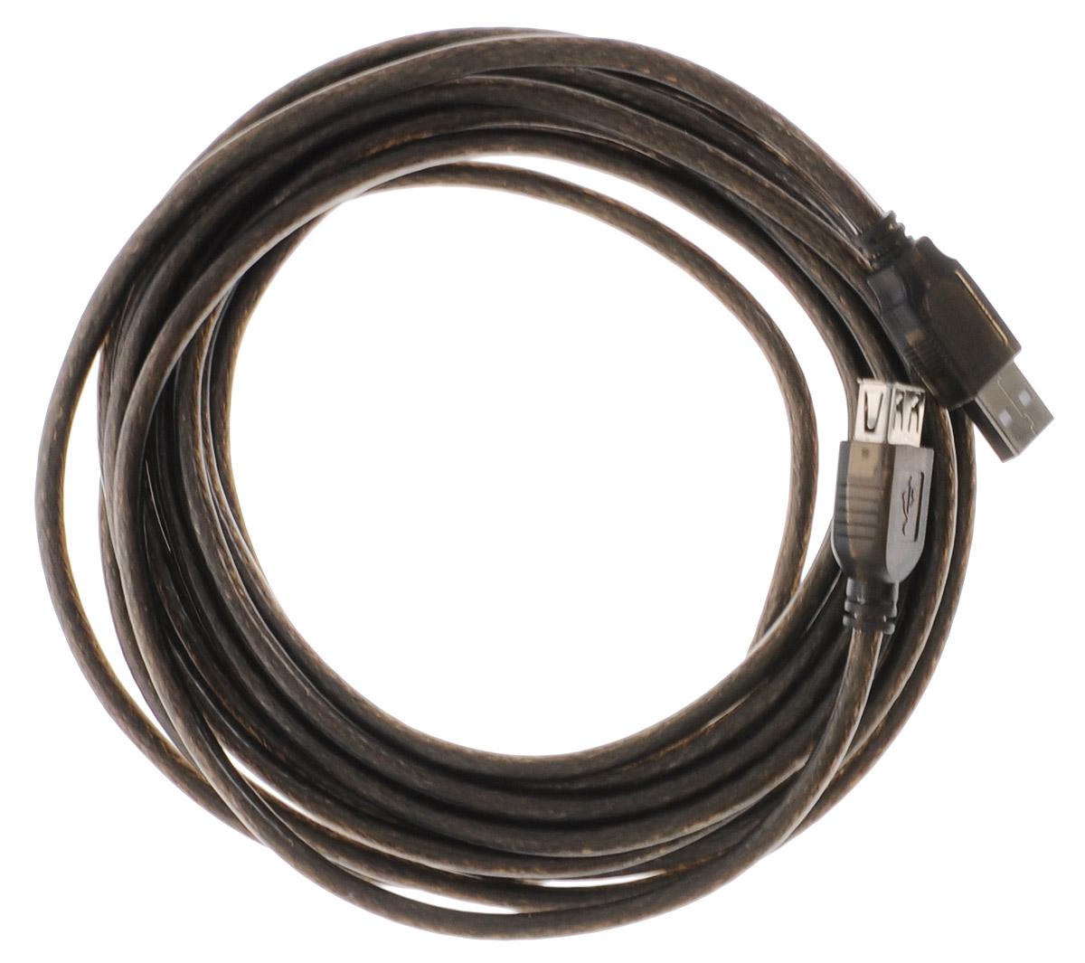 Greenconnect Premium GCR-UEC3M-BD2S, Black кабель - удлинитель USB 5 мGCR-UEC3M-BD2S-5.0mКабель удлинитель USB 2.0 Greenconnect GCR-UEC3M-BD2S позволит увеличить расстояние до подключаемого устройства. Может быть использован с различными USB девайсами.Пропускная способность интерфейса: 480 Мбит/сТип оболочки: PVC (ПВХ)Экранирование
