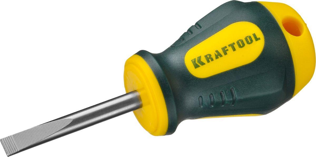 Отвертка Kraftool Expert, SL 5,5 x 38 мм250071-5.5-038Отвертка Kraftool Expert имеет кованый хромомолибденованадиевый стержень SlimFit для труднодоступных мест. Маслобензостойкая двухкомпонентная рукоятка формы бочка имеет противоскользящую поверхность для работы мокрыми и масляными руками. Система насечек NSS для надежного удержания крепежа. Шлиц намагниченный.
