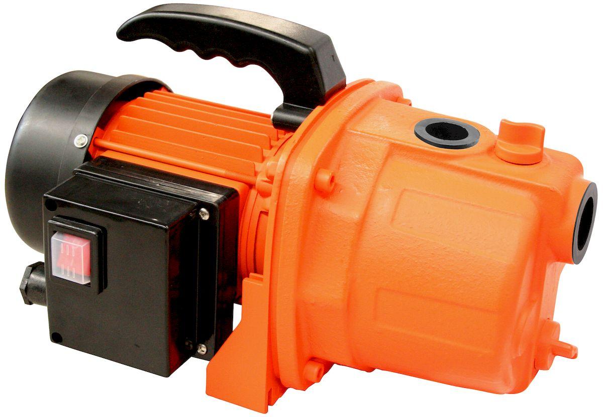 Поверхностный насос Вихрь ПН-1100Ч68/4/6Поверхностный насос Вихрь ПН-1100Ч предназначен дляорганизации системы полива на садовом участке. Способенперекачивать до 4200 литров жидкости в час. Мощностьповерхностного насоса 1100 Вт. Этого хватает на поднятиеводы на высоту 30 метров, при производительности 70 литровв минуту. Мощный двигатель может перегонять воду сглубины до 9 метров.Корпус агрегата выполнен из чугуна - прочного материала,который надежно защищает элементы от внешнихвоздействий и не подвержен коррозии. Переходный фланецалюминиевый. В конструкции предусмотрено плоскоеоснование для прочной и надежной установки во времяработы. Рукоятка обеспечивает удобство переноски.Технические характеристики:Максимальное количество включений: 20 час.Допустимая концентрация твердых частиц в перекачиваемойводе: 150 г/м3.Максимальная глубина всасывания: 9 м.Ток питающей сети: однофазный переменный.Напряжение: 220 В.Частота: 50 Гц.Тип насоса: центробежный.Максимальная высота подъема: 50 м.Максимальная подача: 70 л/мин.Мощность: 1100 Вт.Диаметр входного патрубка: 1.Диаметр выходного патрубка: 1.