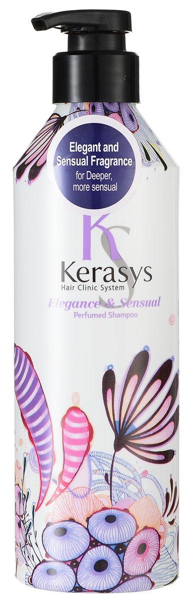 Kerasys Шампунь для волос Perfumed. Элеганс, 600 мл992715Специально разработанная формула для тонких и ослабленных волос укрепляет и восстанавливает структуру волос по всей длине. Волосы обретают жизненную силу, эластичность и объем. Содержит витамины А и Е, масло оливы и масло ши. Аромат: изысканный и грациозный, с нотками лилового цвета для современной и утонченной натуры. Подчеркнет ваш стиль и элегантность. Парфюмерная композиция: Начальная нота: цветы яблони, ирис.Средняя нота: тубероза, иланг-иланг, фиалка, гиацинт.Нижняя нота: сандал, рисовая мука, мускус. Характеристики:Объем: 600 мл. Артикул: 992715. Производитель: Корея.Товар сертифицирован.