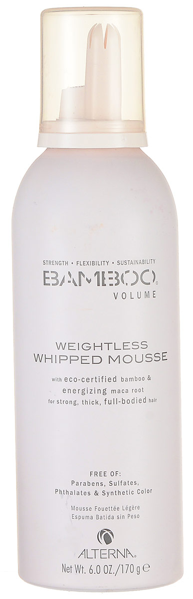 Alterna Невесомый мусс для объема Bamboo Volume Weightless Whipped Mousse - 150 мл коляска baby care premier pink