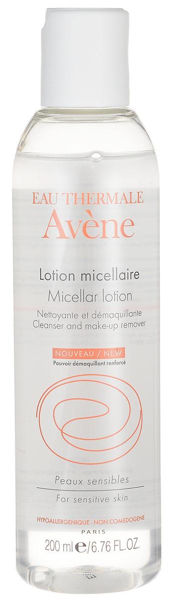 Avene Очищающий мицеллярный лосьон Sensiblesдля лица 200 млC05134Средство для очищения и снятия макияжа, адаптированное для чувствительной кожи с тенденцией к покраснению. Бережно удаляет макияж и загрязнения с кожи лица, контура глаз и губ успокаивает, предохраняет кожу от обезвоженности