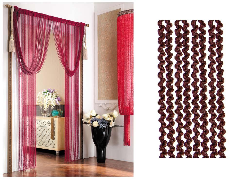 Штора нитяная Magnolia Кисея, цвет: коричневый, высота 290 см. CQ X055-873626Декоративная нитяная штора для дизайнерских решений в вашем доме. Подходит как для зонирования пространства, а так же декорации окна, как самостоятельное решение или дополнение к шторам.