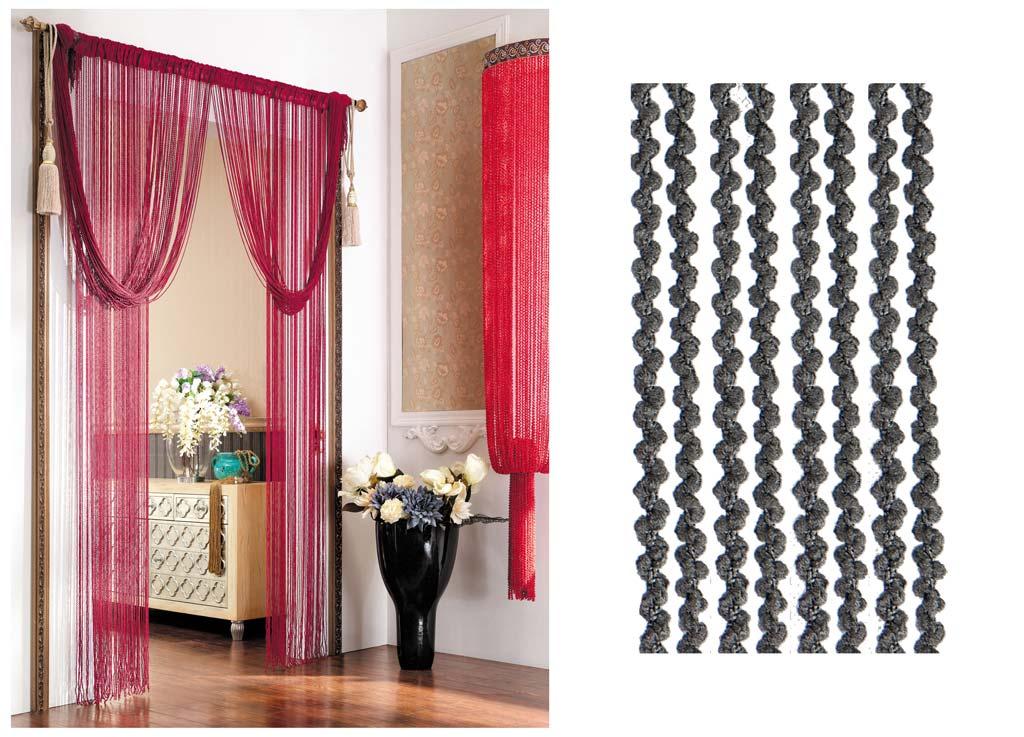 Штора нитяная Magnolia Кисея, цвет: серый, высота 290 см. CQ X055-20773635Декоративная нитяная штора для дизайнерских решений в вашем доме. Подходит как для зонирования пространства, а так же декорации окна, как самостоятельное решение или дополнение к шторам.
