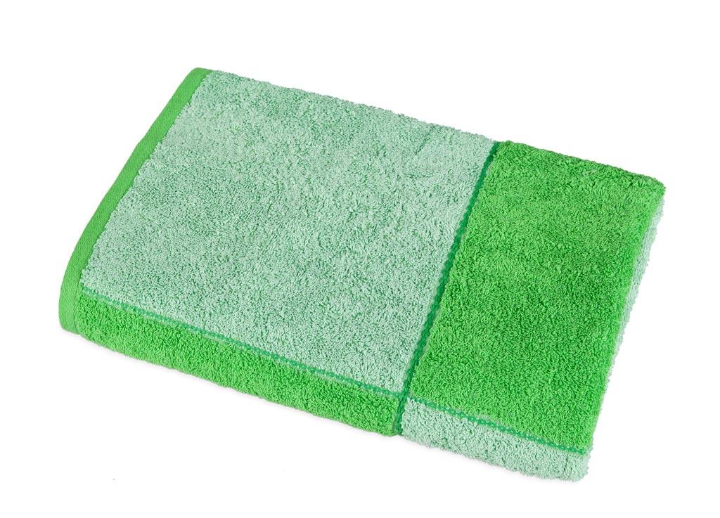Полотенце Soavita Premium Азия, 65х135 см, цвет: зеленый полотенце кухонное soavita цвет коралловый диаметр 65 см 48800