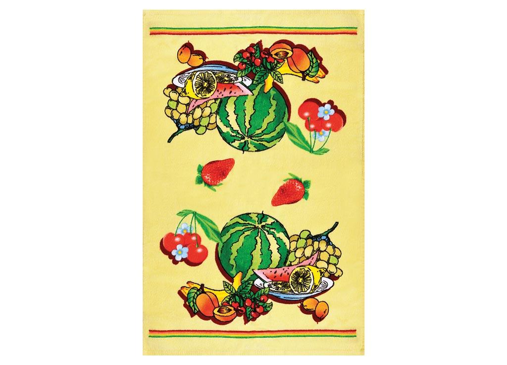 Полотенце кухонное Soavita Ягоды, 45 х 70 см87421Кухонное полотенце Soavita Ягоды выполнено из 100% хлопка и оформлено оригинальным рисунком. Оно отлично впитывает влагу, быстро сохнет, сохраняет яркость цвета и не теряет форму даже после многократных стирок. Изделие предназначено для использования на кухне и в столовой.Такое полотенце станет отличным вариантом для практичной и современной хозяйки.