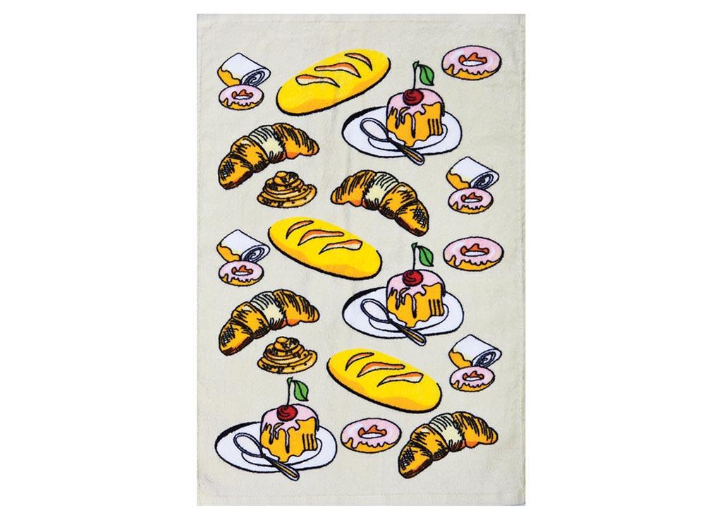 Полотенце кухонное Soavita Завтрак, 40 х 60 см87422Кухонное полотенце Soavita Завтрак выполнено из 100% хлопка и оформлено оригинальным рисунком. Оно отлично впитывает влагу, быстро сохнет, сохраняет яркость цвета и не теряет форму даже после многократных стирок. Изделие предназначено для использования на кухне и в столовой.Такое полотенце станет отличным вариантом для практичной и современной хозяйки.