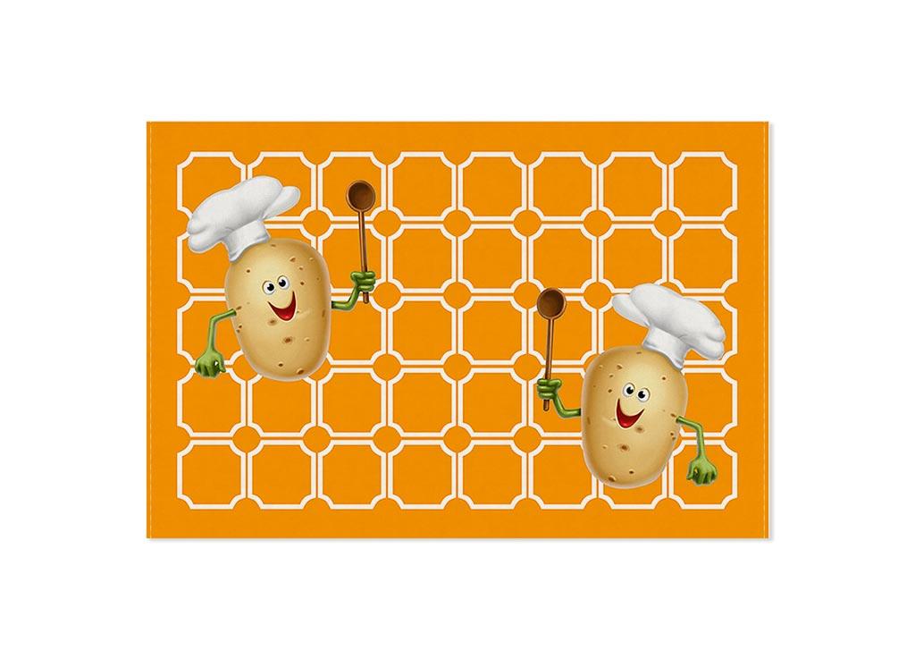 Полотенце кухонное Soavita Картошка, 40 х 60 см87449Кухонное полотенце Soavita Картошка выполнено из 100% хлопка и оформлено оригинальным рисунком. Оно отлично впитывает влагу, быстро сохнет, сохраняет яркость цвета и не теряет форму даже после многократных стирок. Изделие предназначено для использования на кухне и в столовой.Такое полотенце станет отличным вариантом для практичной и современной хозяйки.