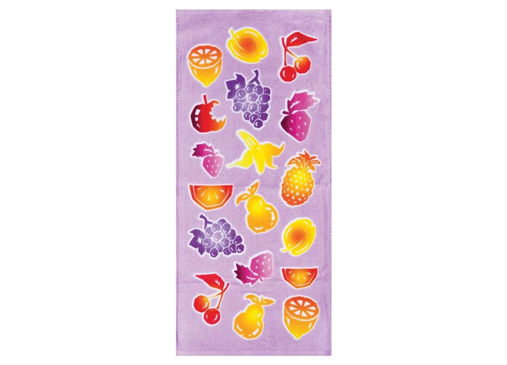 Полотенце кухонное Soavita Фрукты, 34 х 76 см87454Кухонное полотенце Soavita Фрукты выполнено из 100% хлопка и оформлено оригинальным рисунком. Оно отлично впитывает влагу, быстро сохнет, сохраняет яркость цвета и не теряет форму даже после многократных стирок. Изделие предназначено для использования на кухне и в столовой.Такое полотенце станет отличным вариантом для практичной и современной хозяйки.