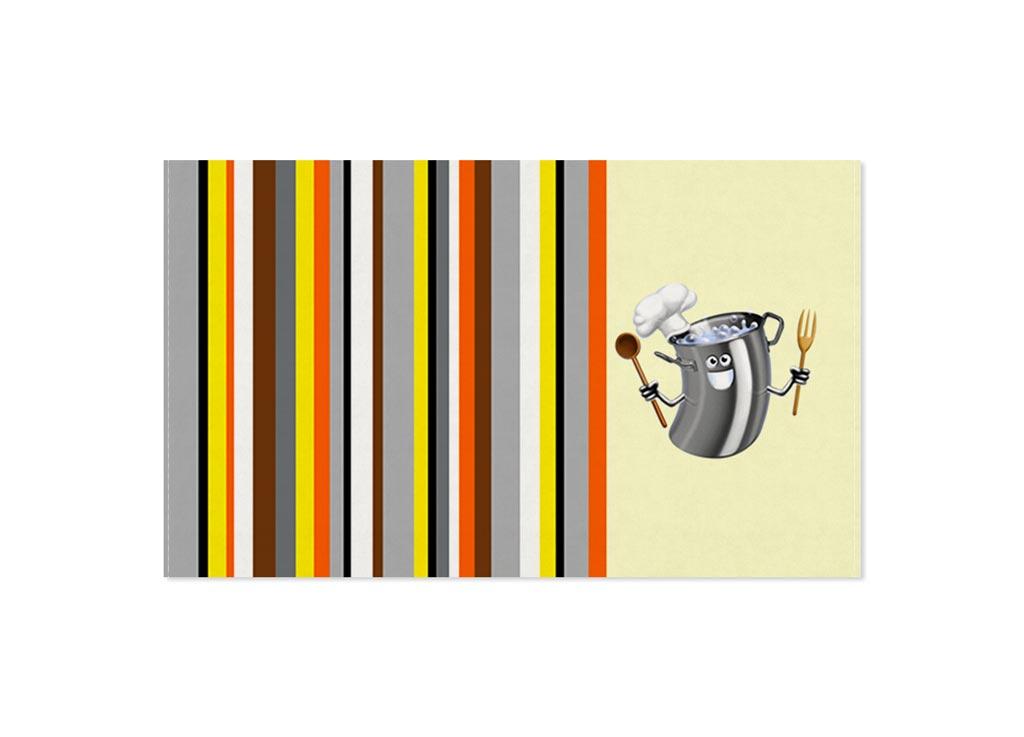 Полотенце кухонное Soavita Кастрюля, 30 х 50 см87461Кухонное полотенце Soavita Кастрюля выполнено из 100% хлопка и оформлено оригинальным рисунком. Оно отлично впитывает влагу, быстро сохнет, сохраняет яркость цвета и не теряет форму даже после многократных стирок. Изделие предназначено для использования на кухне и в столовой.Такое полотенце станет отличным вариантом для практичной и современной хозяйки.