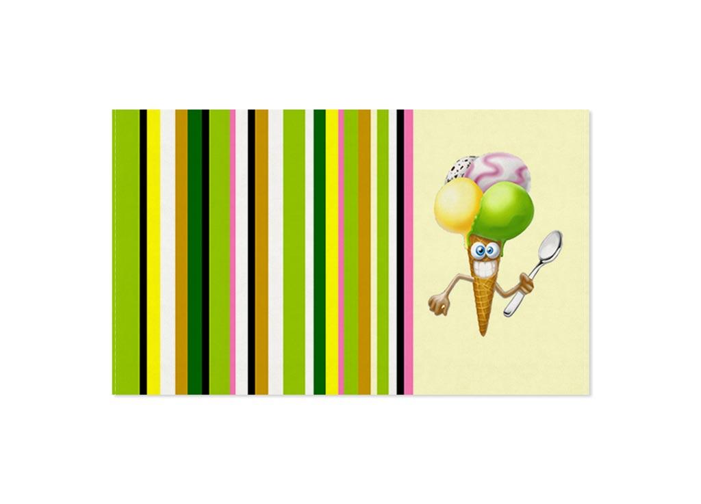 Полотенце кухонное Soavita Мороженное, 30 х 50 см87471Кухонное полотенце Soavita Мороженное выполнено из 100% хлопка и оформлено оригинальным рисунком. Оно отлично впитывает влагу, быстро сохнет, сохраняет яркость цвета и не теряет форму даже после многократных стирок. Изделие предназначено для использования на кухне и в столовой.Такое полотенце станет отличным вариантом для практичной и современной хозяйки.
