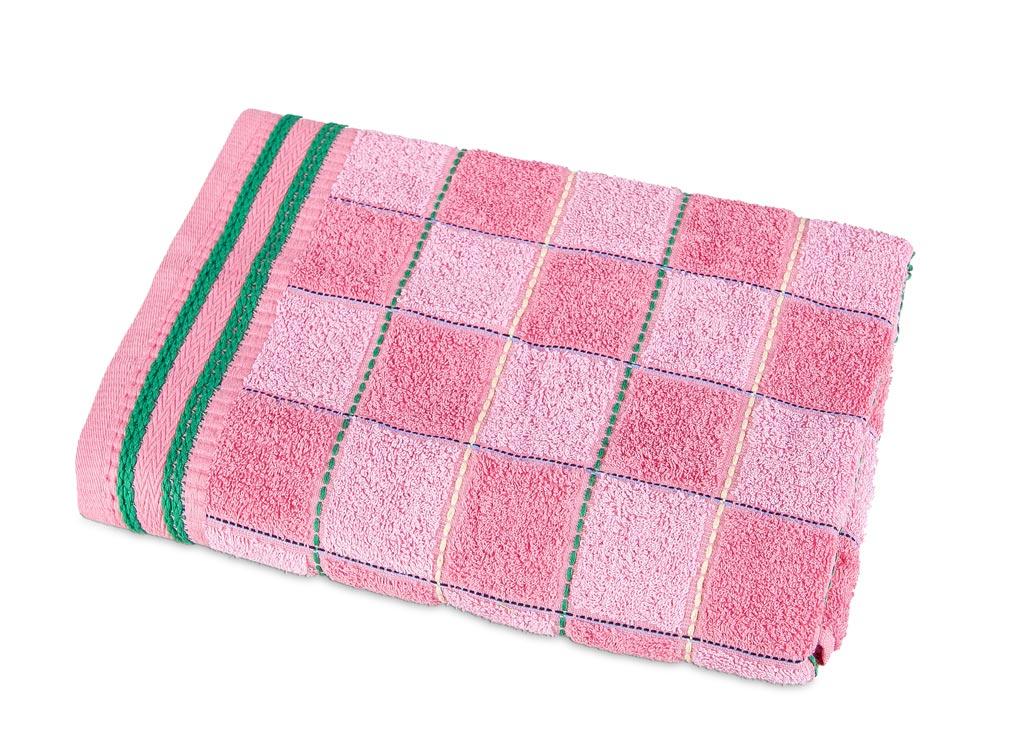 Полотенце Soavita Premium. Шахматы, цвет: розовый, 68 х 135 см87481Махровое полотенце Soavita Premium. Шахматы выполнено из хлопка. Полотенца используются для протирки различных поверхностей, также широко применяются в быту.Перед использованием постирать при температуре не выше 40 градусов.Размер полотенца: 68 х 135 см.