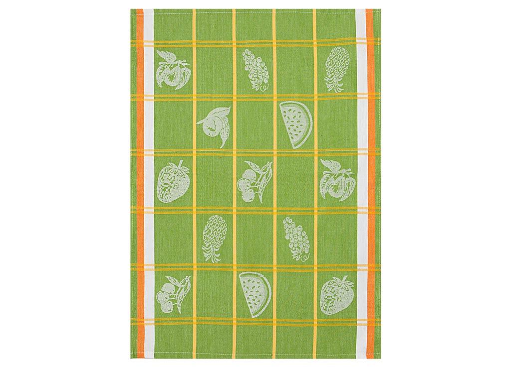 Полотенце Soavita Rries, 50х70 см, цвет: зеленый87491Перед использованием постирать при температуре не выше 40 градусов