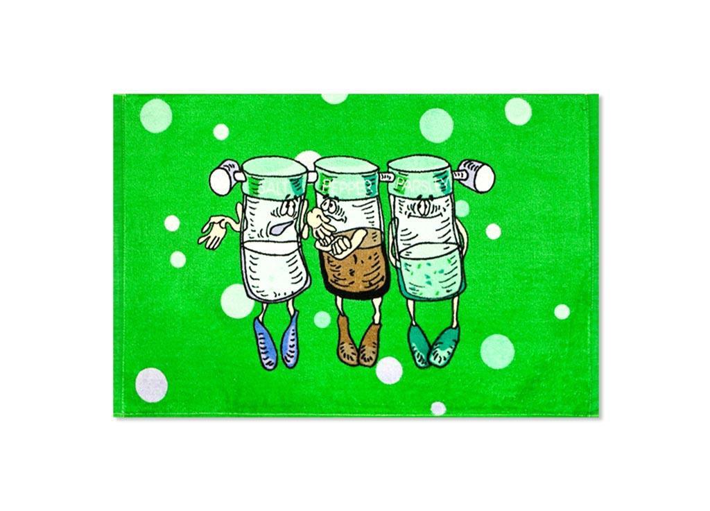 Полотенце кухонное Soavita Специи, 40 х 60 см87530Кухонное полотенце Soavita Специи, выполненное из 100% хлопка,оформлено оригинальным рисунком. Изделие предназначено дляиспользования на кухне и в столовой. Такое полотенце станет отличным вариантом для практичной и современнойхозяйки. Рекомендуется стирка при температуре 40°C.