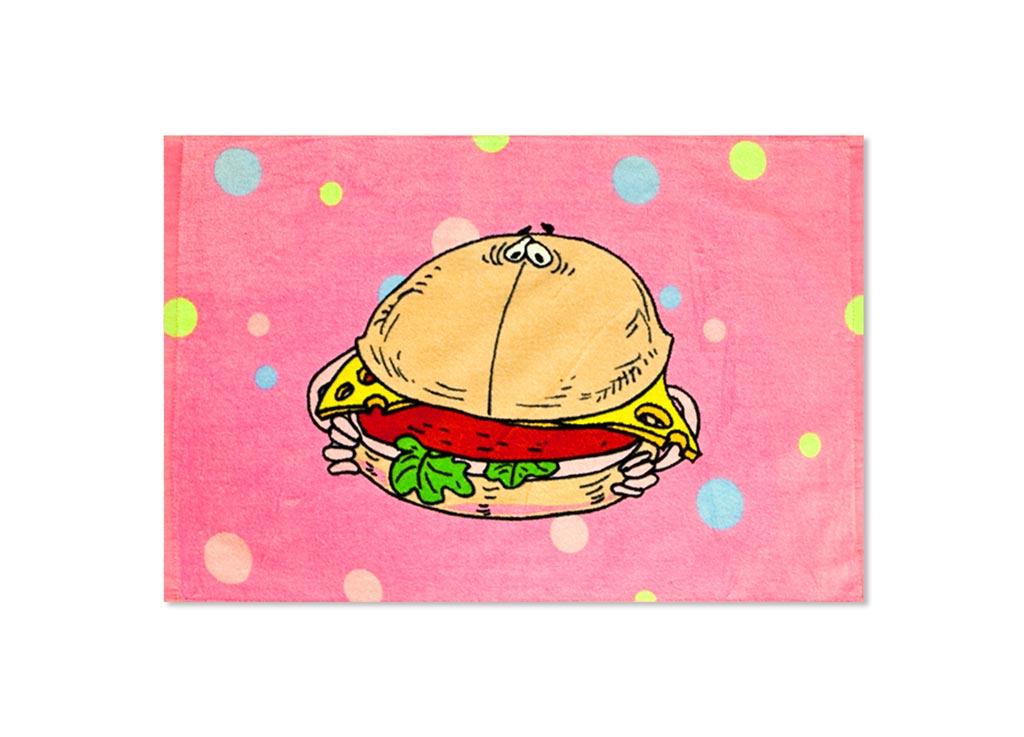 Полотенце кухонное Soavita Гамбургер, 40 х 60 см87532Кухонное полотенце Soavita Гамбургер, выполненное из 100% хлопка, оформлено оригинальным рисунком. Изделие предназначено для использования на кухне и в столовой.Такое полотенце станет отличным вариантом для практичной и современной хозяйки.Рекомендуется стирка при температуре 40°C.