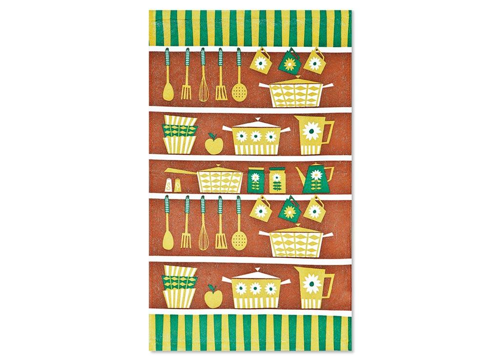 Салфетка Soavita Кухонная утварь, цвет: коричневый, оливковый, зеленый, 38 х 64 см87582Кухонная салфетка Soavita Кухонная утварь выполнена из высококачественной микрофибры и украшена оригинальным рисунком. Изделие отлично впитывает влагу, быстро сохнет, сохраняет яркость цвета и не теряет форму даже после многократных стирок. Салфетка очень практична и неприхотлива в уходе. Она создаст прекрасное настроение и украсит интерьер вашей кухни.Перед использованием постирать при температуре не выше 40°C.