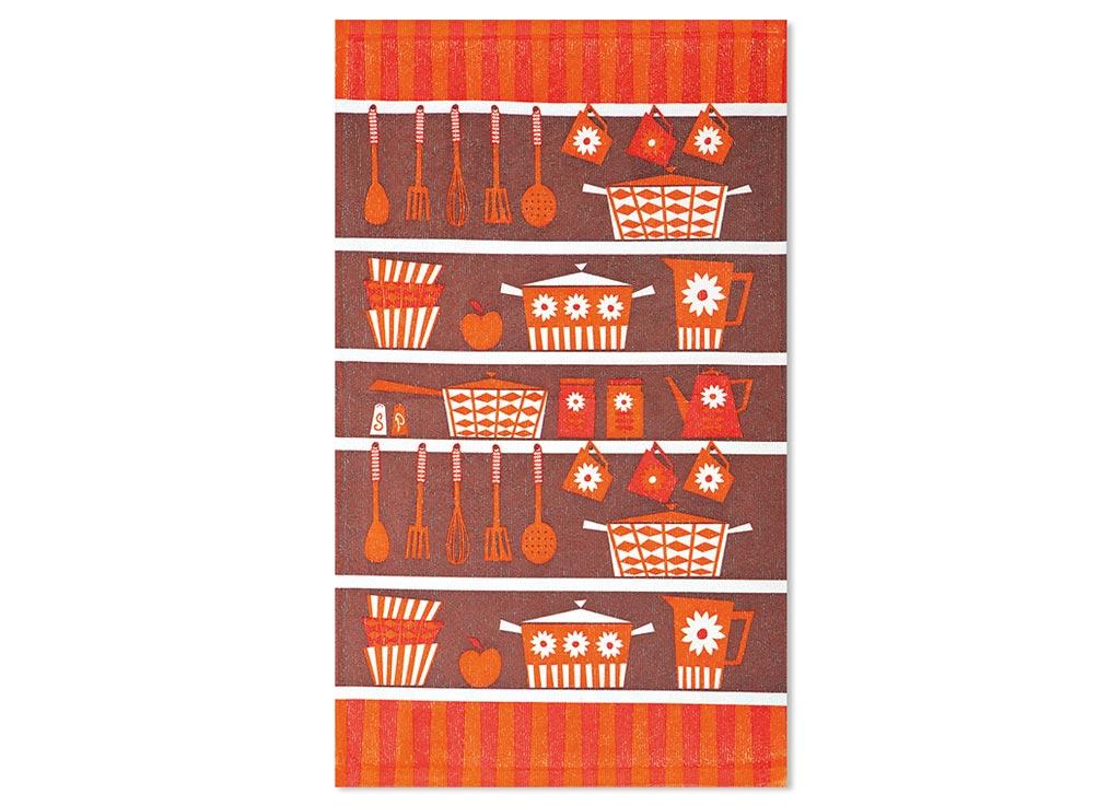 Салфетка Soavita Кухонная утварь, цвет: коричневый, терракот, красный, 38 х 64 см87584Кухонная салфетка Soavita Кухонная утварь выполнена из высококачественной микрофибры и украшена оригинальным рисунком. Изделие отлично впитывает влагу, быстро сохнет, сохраняет яркость цвета и не теряет форму даже после многократных стирок. Салфетка очень практична и неприхотлива в уходе. Она создаст прекрасное настроение и украсит интерьер вашей кухни.Перед использованием постирать при температуре не выше 40°C.