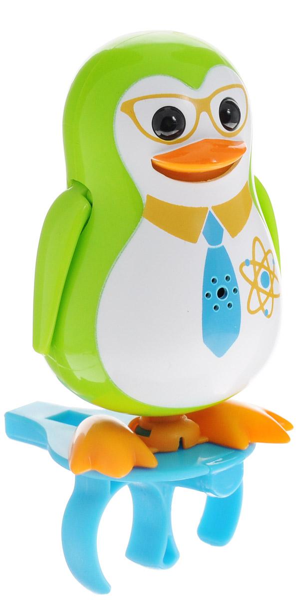 DigiFriends Интерактивная игрушка Пингвин с кольцом цвет зеленый digifriends интерактивная игрушка пингвин с кольцом цвет малиновый