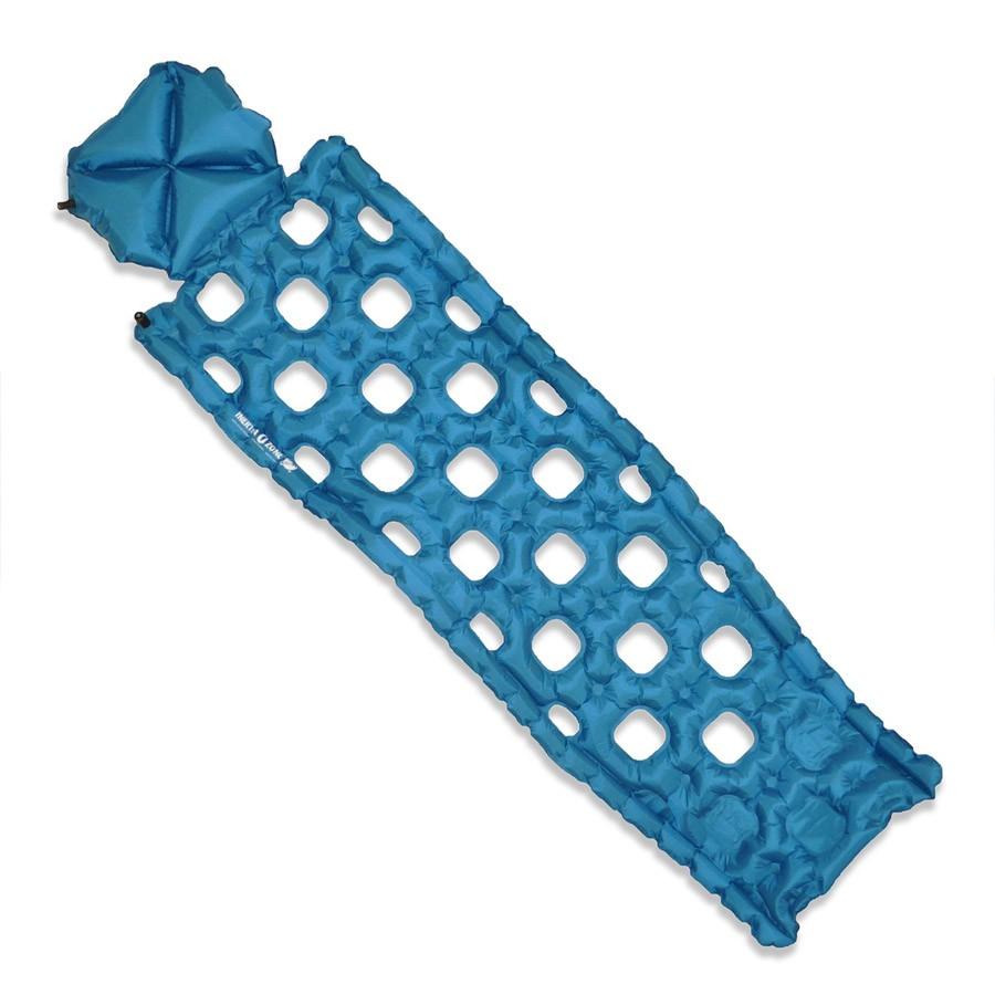 Надувной коврик Klymit  Inertia Ozone pad Blue , цвет: синий - Туристические коврики