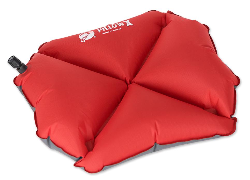 Надувная подушка Klymit  Pillow X Red , цвет: красный - Подушки, пледы, коврики