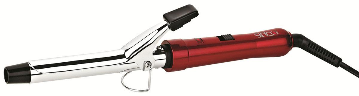 Sinbo SHD 7032, Red щипцы для завивки волосSHD 7032_RedЗавить красивые локоны можно максимально просто, если воспользоваться удобными электрощипцами Sinbo SHD 7032. Это устройство выделяется на фоне многочисленных аналогов привлекательным внешним видом, удобным управлением, возможностью регулировки степени нагрева, а также качественным покрытием насадок, которое не повреждает волосы и сохраняет их природное здоровье. Для удобства использования в приборе предусмотрена подставка и ненагревающийся наконечник. Электрощипцы Sinbo SHD 7032 станут прекрасным дополнением к устройствам для укладки волос.