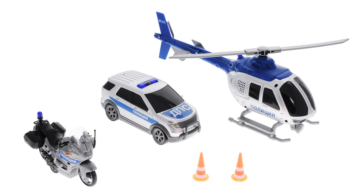 Dickie Toys Игровой набор Полиция dickie toys игровой набор маяк