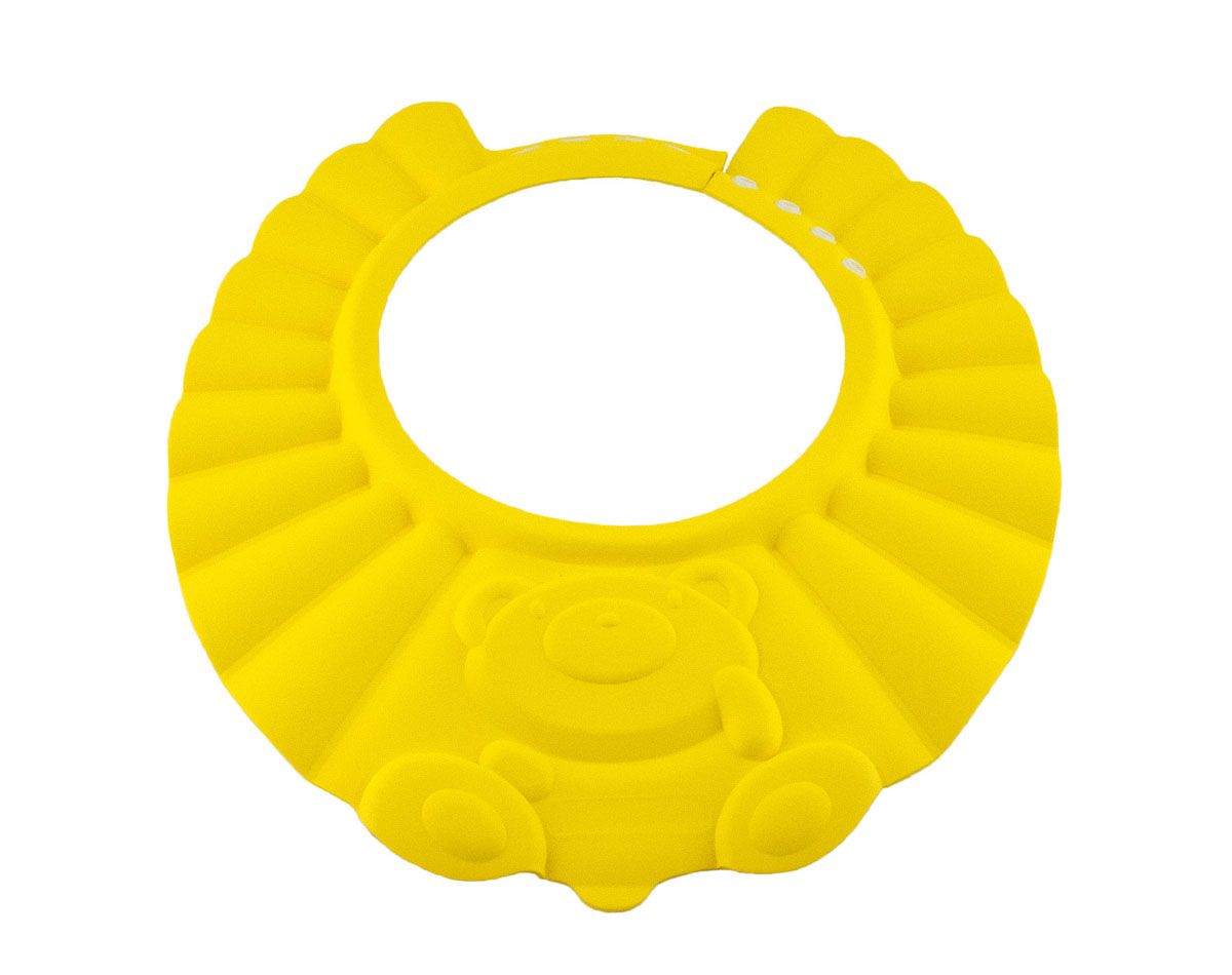 Baby Swimmer Детская шапочка-козырек для душа цвет желтый BS-SH01-D