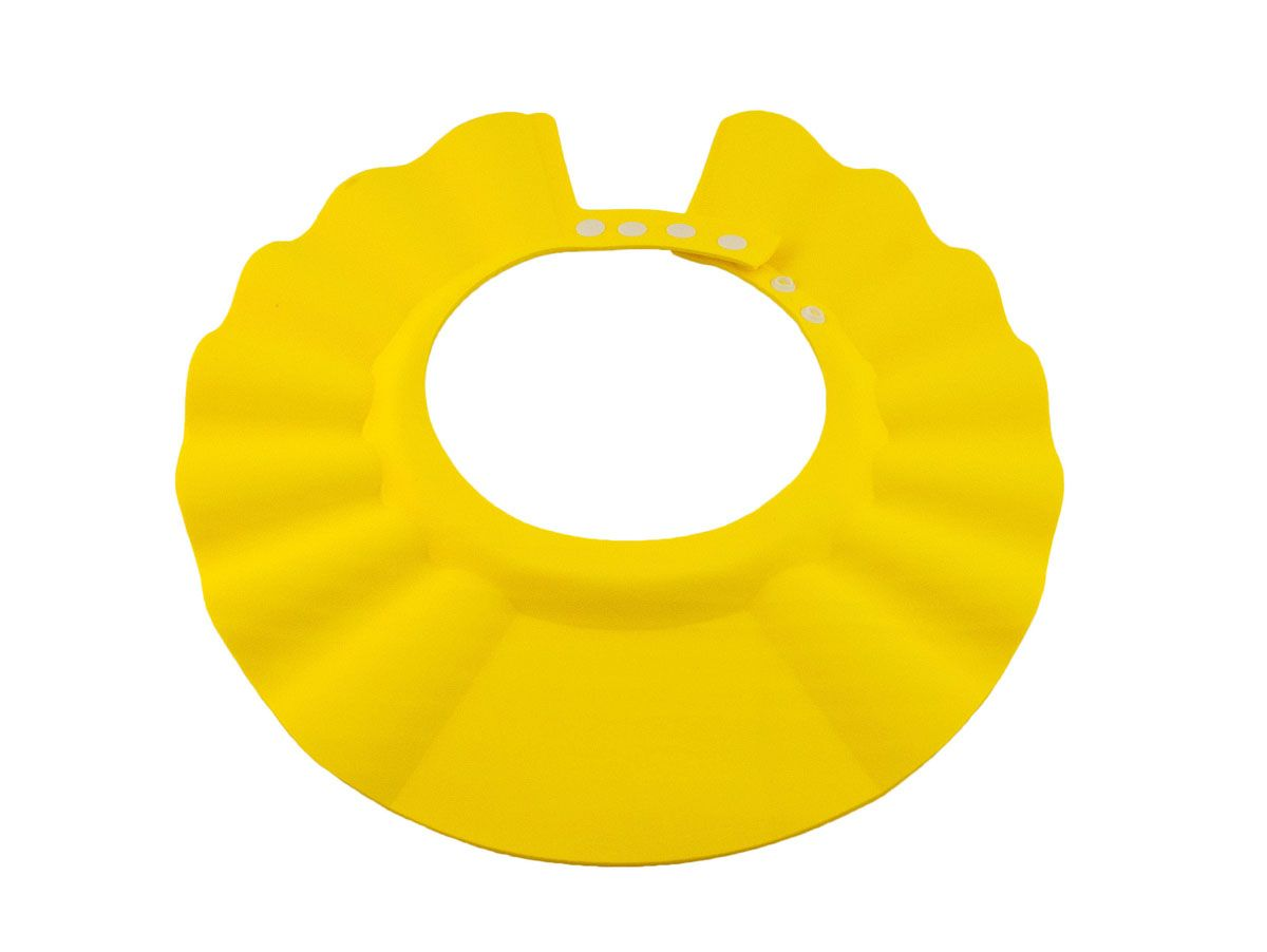 Baby Swimmer Детская шапочка-козырек для душа цвет желтый BS-SH02-D