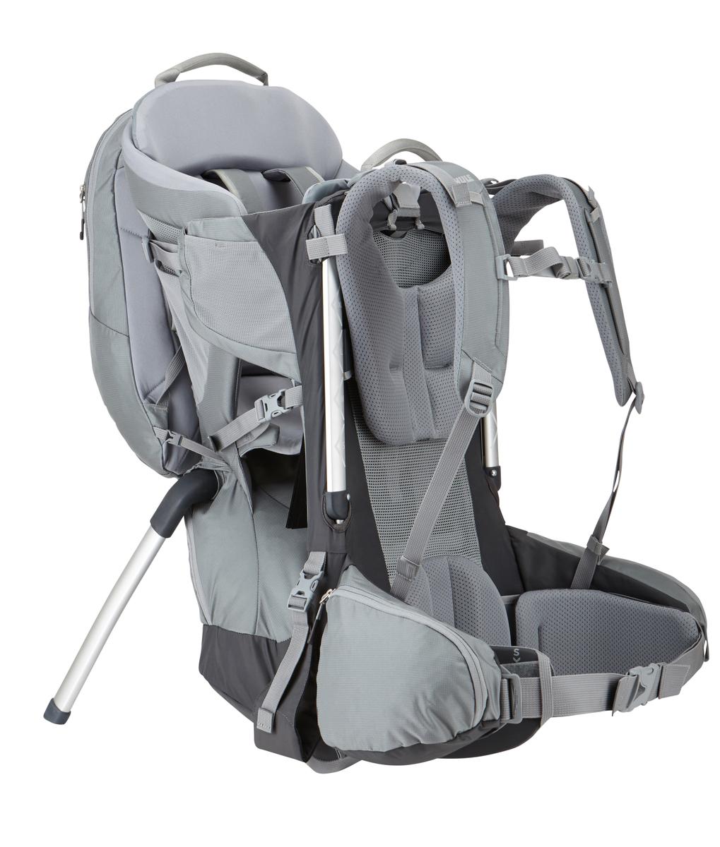 Рюкзак для переноски детей Thule Sapling Elite Child Carrier, цвет: серый, 32л установочный комплект для багажника thule 1408