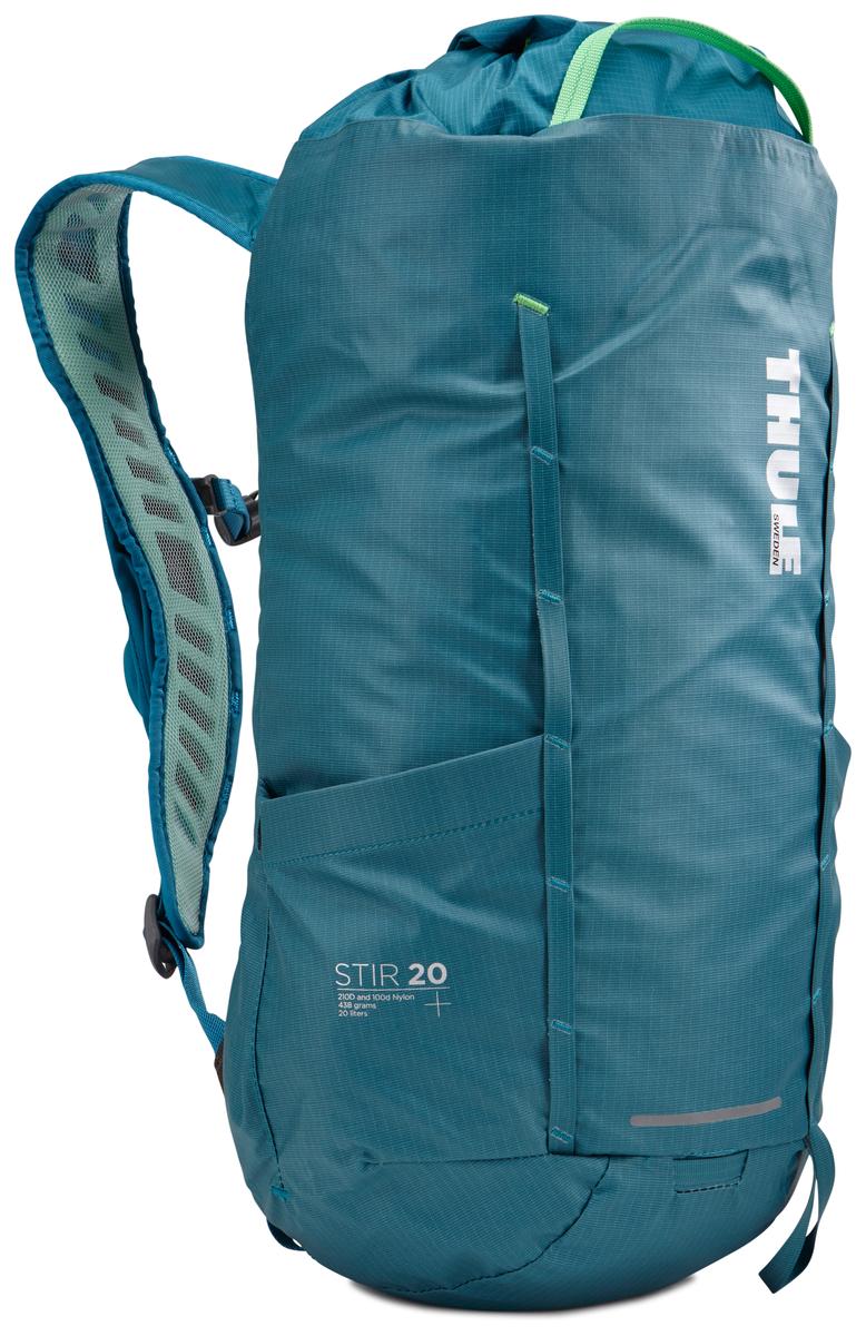 Рюкзак Thule Stir 20L, цвет: бирюзовый, 20 л рюкзак thule stir 15l dark forest 3203558