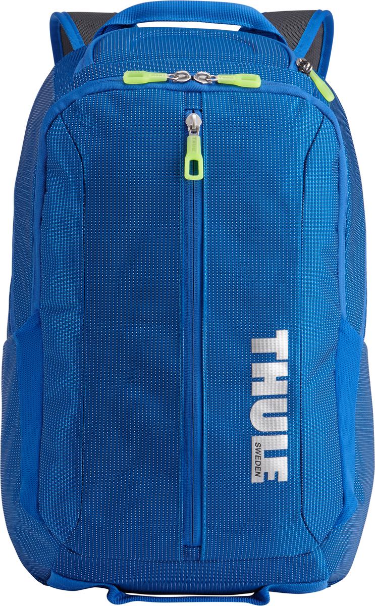 Рюкзак Thule Crossover, цвет: темно-синий, 25л. TCBP3173201990Рюкзак Thule Crossover, 25 л - Сложите в этот прочный рюкзак все необходимое: в нем есть отделение с дополнительной защитой для электронных устройств и многофункциональное отделение для других вещей. Внутренний отдел с мягкой прокладкой подойдет для MacBook Pro 15 или ноутбука Отдельный карман с мягкой подкладкой для iPad В ударопрочном отделении SafeZone для солнечных очков и хрупких вещей есть специальный карман для телефона Отделение SafeZone можно закрыть на замок, а если нужно освободить дополнительное пространство, можно полностью убрать его Перфорированные наплечные ремни из EVA с сетчатым покрытием и мягкая задняя подушка со специальными порами, пропускающими воздух, создают ощущение комфорта и позволяют вашей спине «дышать». Водостойкий материал и надежные застежки-молнии делают эту сумку легкой, но прочной В отделе-органайзере можно хранить зарядные устройства и другие аксессуары, которые всегда должны быть под рукой, но не должны валяться где попало. Несколько удобных ручек для переноски Боковые сетчатые карманы с двух сторон предназначены для хранения бутылок и аксессуаров