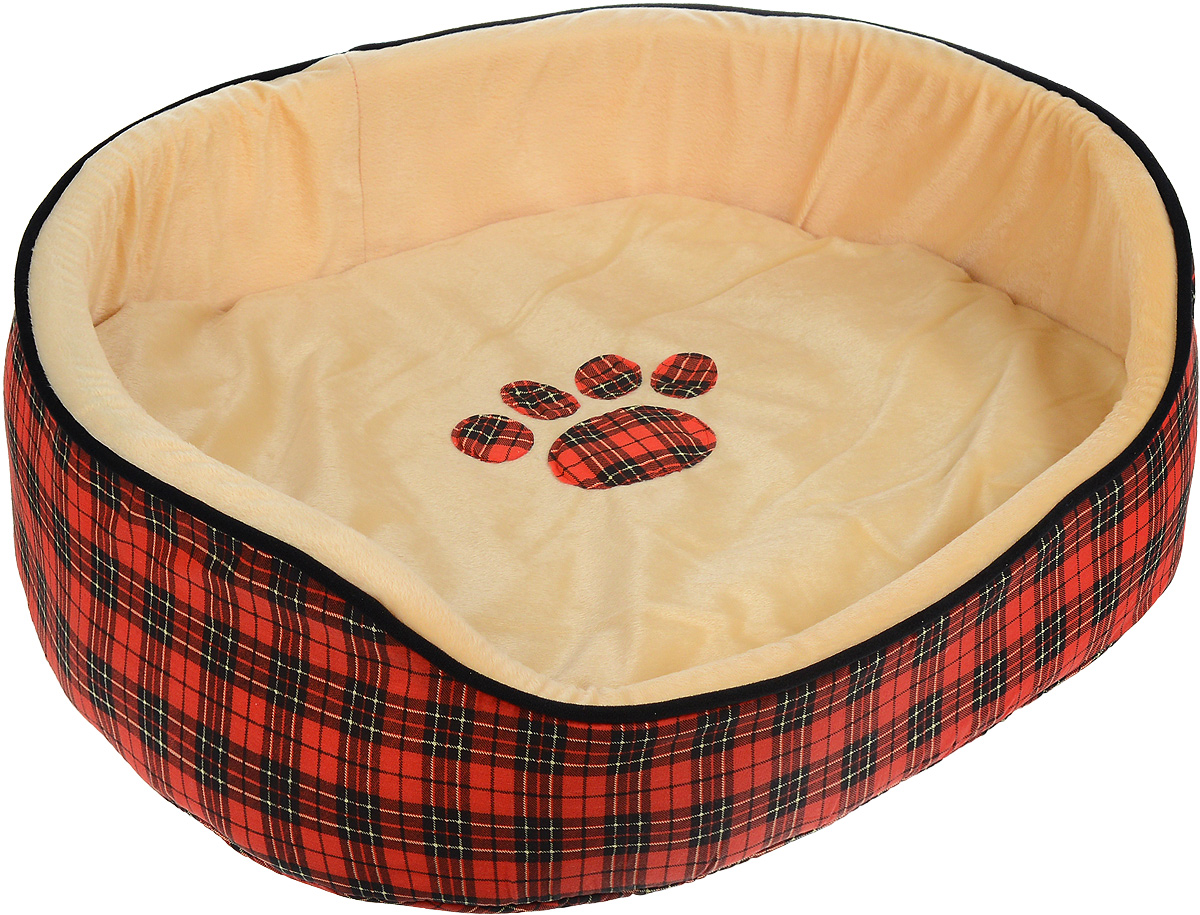 Лежак для животных Каскад Клетка. №5, 65 х 55 х 22 см игрушка для животных каскад мячик пробковый диаметр 3 5 см