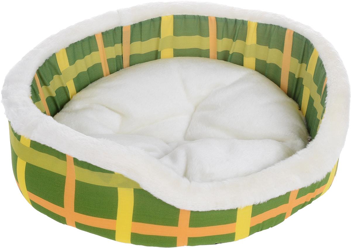 Лежак для животных Каскад Клетка. №2, 46 х 46 х 15 см игрушка для животных каскад удочка с микки маусом 47 см