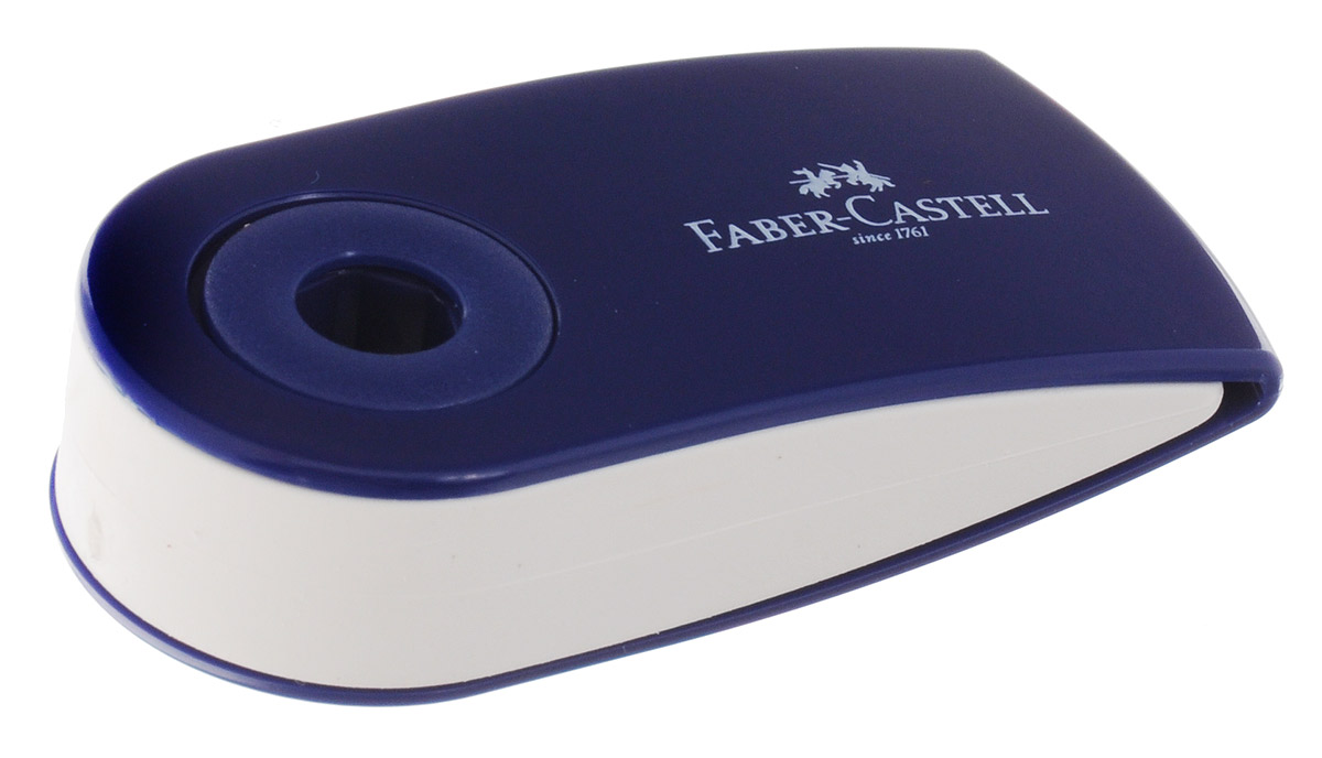 Faber-Castell Ластик-мини Sleeve цвет темно-синий182411_темно-синийЛастик-мини Faber-Castell Sleeve станет незаменимым аксессуаром нарабочем столе не только школьника или студента, но и офисного работника.Аккуратный и не оставляет грязных разводов. Кроме того высококачественныйластик не повреждает бумагу даже при многократном стирании. Специальныйподвижный колпачок защищает ластик от загрязнения.