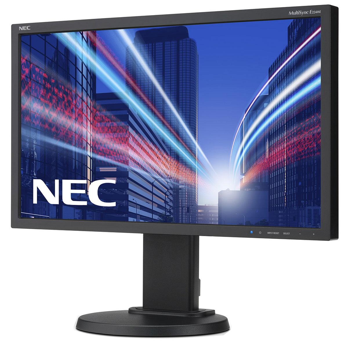 NEC E224Wi-BK, Black монитор монитор 22 nec ea223wm bk черный ea223wm bk