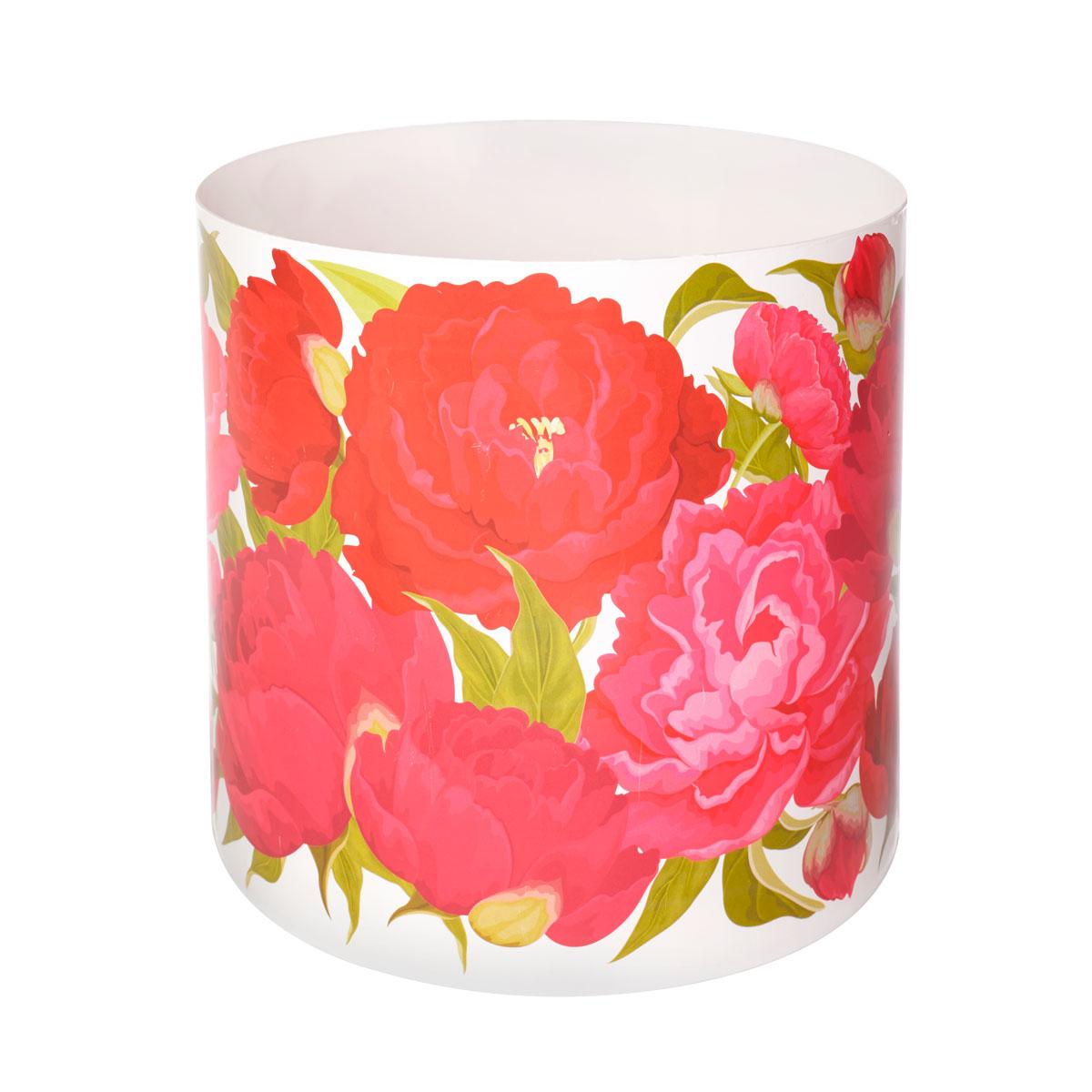 Горшок для цветов Miolla Пионы, со скрытым поддоном, 5,1 лSMG-25Горшок для цветов Miolla Пионы со скрытым поддоном выполнен из пластика.Диаметр горшка: 20,5 см.Высота горшка (с учетом поддона): 19 см.Объем горшка: 5,1 л.