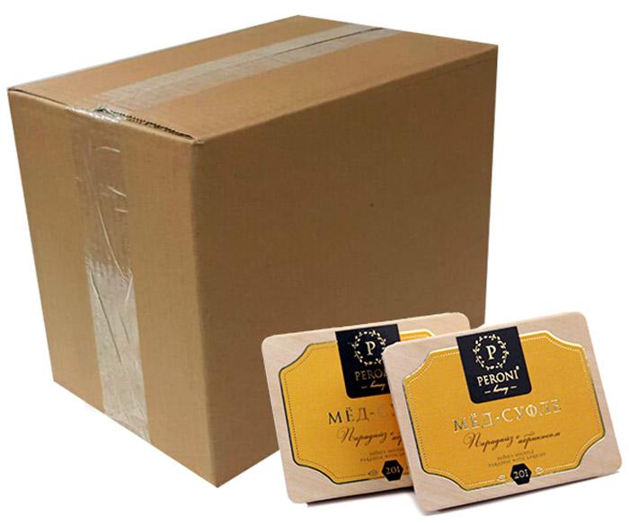 Peroni Парадайз с абрикосом мед-суфле порционный, 70 шт медовая серия peroni энерджи premium 4 x 30 мл