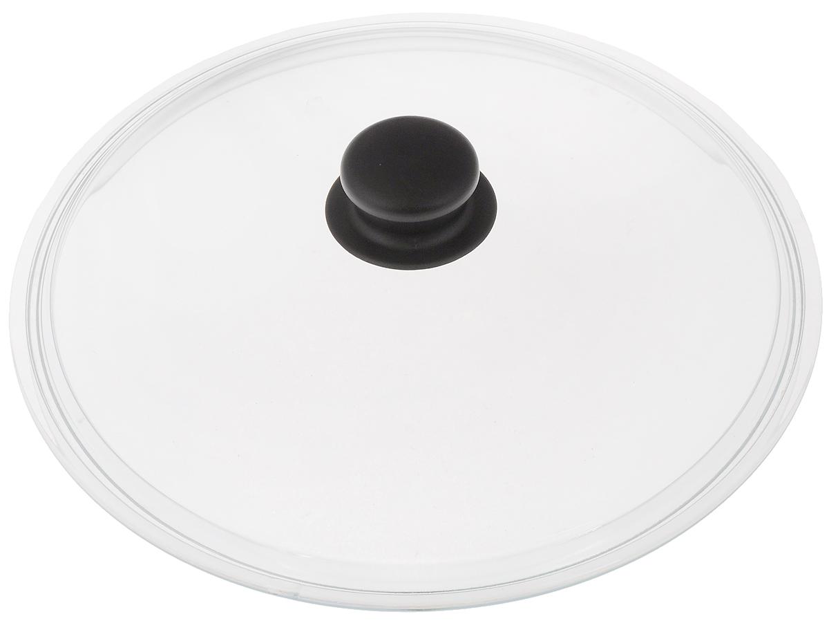 """Крышка VGP """"Катюша"""" изготовлена из жаропрочного стекла. Ручка, выполненная из термостойкого пластика, защищает ваши руки от высоких температур. Крышка удобна в использовании и позволяет контролировать процесс приготовленияпищи. Можно мыть в посудомоечной машине.   УВАЖАЕМЫЕ КЛИЕНТЫ!  Просим обратить ваше внимание на тот факт, что изделие подходит только для кастрюль """"Катюша""""."""
